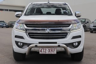 2017 Holden Colorado RG MY18 Storm Pickup Crew Cab White 6 Speed Sports Automatic Utility