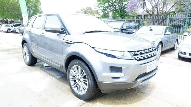 Used Land Rover Range Rover Evoque L538 MY13 TD4 CommandShift Pure St James, 2012 Land Rover Range Rover Evoque L538 MY13 TD4 CommandShift Pure Grey 6 Speed Sports Automatic
