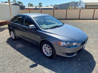 2011 Mitsubishi Lancer CJ MY11 SX Sportback Grey 5 Speed Manual Hatchback.