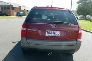 2005 Ford Territory SX TS Red 4 Speed Sports Automatic Wagon