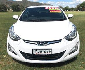 2015 Hyundai Elantra MD3 Elite White 6 Speed Sports Automatic Sedan.
