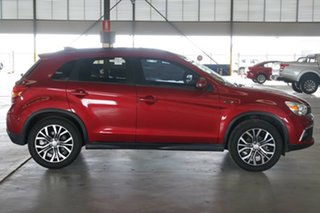 2017 Mitsubishi ASX XC MY17 LS (2WD) Red Metallic Continuous Variable Wagon