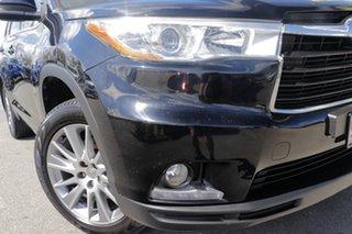 2015 Toyota Kluger GSU50R Grande 2WD Eclipse Black 6 Speed Sports Automatic Wagon.
