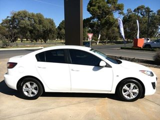 2010 Mazda 3 BL10F1 MY10 Neo Activematic Crystal White Pearl 5 Speed Sports Automatic Sedan.