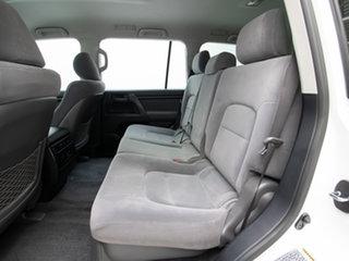 2010 Toyota Landcruiser UZJ200R 09 Upgrade GXL (4x4) White 5 Speed Automatic Wagon