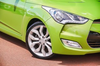2012 Hyundai Veloster FS Coupe D-CT Green 6 Speed Sports Automatic Dual Clutch Hatchback