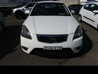 2011 Kia Rio JB MY11 S White 4 Speed Automatic Hatchback