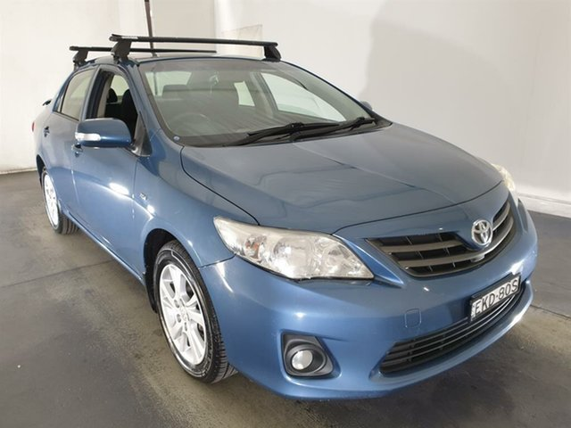 Used Toyota Corolla ZRE152R MY11 Ascent Sport Maryville, 2012 Toyota Corolla ZRE152R MY11 Ascent Sport Blue 6 Speed Manual Sedan