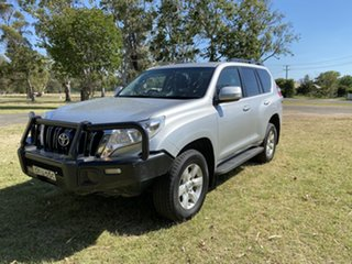 2016 Toyota Landcruiser Prado GDJ150R GXL Silver 6 Speed Manual Wagon.