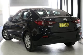 2018 Mazda 3 BN MY18 Neo Sport Jet Black 6 Speed Manual Sedan.