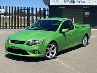 2009 Ford Falcon FG XR8 Ute Super Cab Green 6 Speed Sports Automatic Utility.