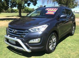 2012 Hyundai Santa Fe DM MY13 Elite Blue 6 Speed Sports Automatic Wagon.