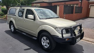 2010 Nissan Navara D40 ST Gold 6 Speed Manual Utility.
