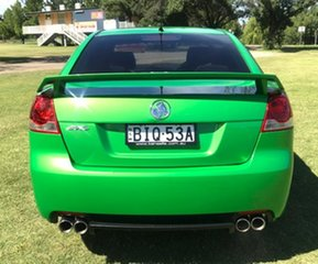 2009 Holden Commodore VE MY09.5 SV6 Green 6 Speed Manual Sedan