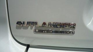 2008 Mitsubishi Outlander ZG MY08 Limited Edition White 6 Speed Sports Automatic Wagon