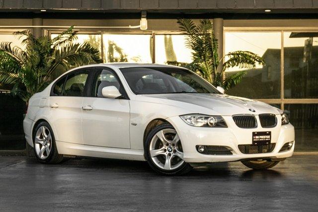 Used BMW 3 Series E90 MY09 320i Steptronic Executive Bowen Hills, 2009 BMW 3 Series E90 MY09 320i Steptronic Executive White 6 Speed Sports Automatic Sedan