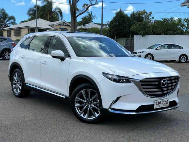 Used Mazda CX-9 TC GT SKYACTIV-Drive Chermside, 2017 Mazda CX-9 TC GT SKYACTIV-Drive White 6 Speed Sports Automatic Wagon