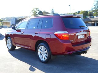 2009 Toyota Kluger GSU45R Altitude AWD Red 5 Speed Sports Automatic Wagon