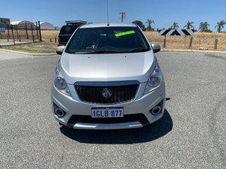 2011 Holden Barina Spark MJ Update CD Silver 5 Speed Manual Hatchback.