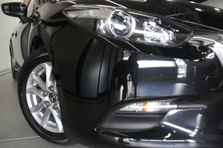 2018 Mazda 3 BN MY18 Neo Sport Jet Black 6 Speed Manual Sedan.