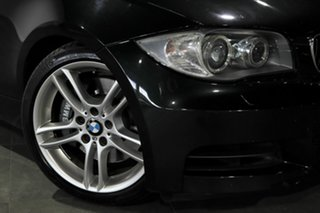 2009 BMW 1 Series E82 135i Steptronic Sport Black 6 Speed Sports Automatic Coupe.
