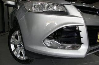 2014 Ford Kuga TF Trend (AWD) Moondust Silver 6 Speed Automatic Wagon.