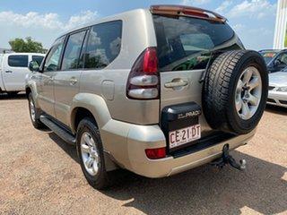 2003 Toyota Landcruiser Prado KZJ120R GXL Gold 5 Speed Manual Wagon