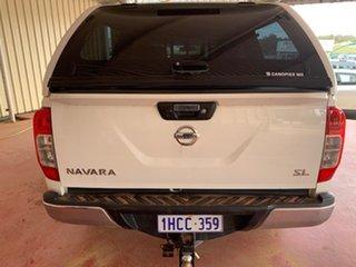 2018 Nissan Navara D23 SL (4x4) White 7 Speed Automatic Dual Cab.