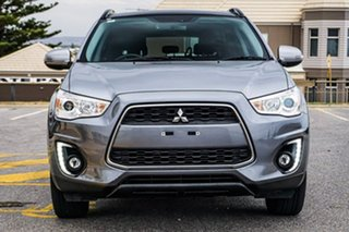 2014 Mitsubishi ASX XB MY14 Aspire Silver 6 Speed Constant Variable Wagon
