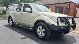 2010 Nissan Navara D40 ST Gold 6 Speed Manual Utility