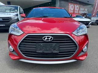 2015 Hyundai Veloster FS4 Series II SR Coupe Turbo + Red 6 Speed Manual Hatchback.