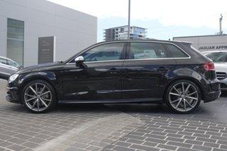 2016 Audi S3 8V MY16 Sportback S Tronic Quattro Black 6 Speed Sports Automatic Dual Clutch Hatchback