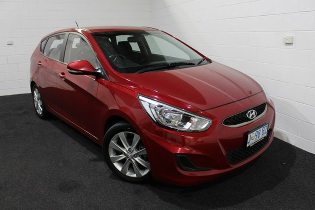 Used Hyundai Accent RB6 MY18 Sport Glenorchy, 2018 Hyundai Accent RB6 MY18 Sport Red 6 Speed Sports Automatic Hatchback