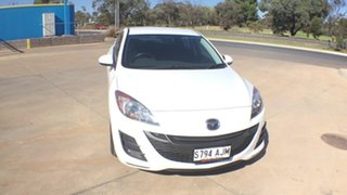 2010 Mazda 3 BL10F1 MY10 Neo Activematic Crystal White Pearl 5 Speed Sports Automatic Sedan