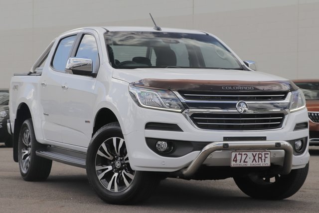 Used Holden Colorado RG MY18 Storm Pickup Crew Cab Windsor, 2017 Holden Colorado RG MY18 Storm Pickup Crew Cab White 6 Speed Sports Automatic Utility