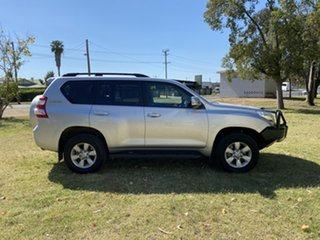 2016 Toyota Landcruiser Prado GDJ150R GXL Silver 6 Speed Manual Wagon