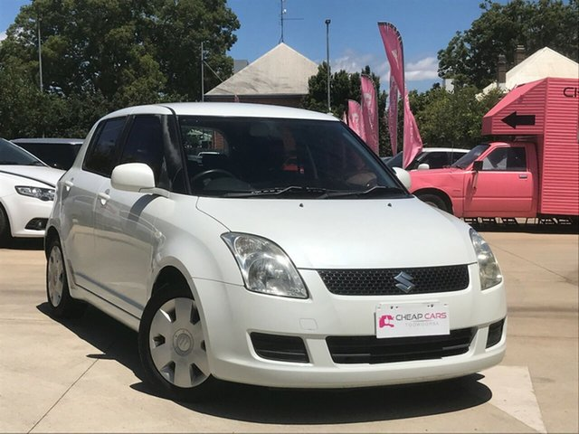 Used Suzuki Swift EZ 07 Update Toowoomba, 2010 Suzuki Swift EZ 07 Update White 5 Speed Manual Hatchback