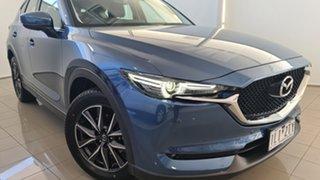 2017 Mazda CX-5 KF4WLA Touring SKYACTIV-Drive i-ACTIV AWD Blue 6 Speed Sports Automatic Wagon.