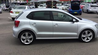 2011 Volkswagen Polo 6R MY11 66TDI DSG Comfortline Silver 7 Speed Sports Automatic Dual Clutch