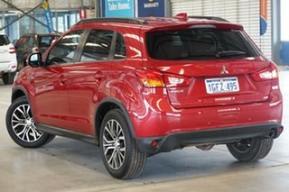 2017 Mitsubishi ASX XC MY17 LS (2WD) Red Metallic Continuous Variable Wagon.