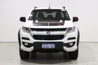 2019 Holden Colorado RG MY19 Z71 (4x4) (5Yr) White 6 Speed Automatic Crew Cab Pickup.