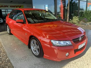 2006 Holden Commodore VZ 05 Upgrade SV6 Red 5 Speed Auto Active Select Sedan.