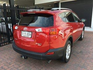 2014 Toyota RAV4 ASA44R MY14 GXL AWD Red/Black 6 Speed Sports Automatic Wagon.