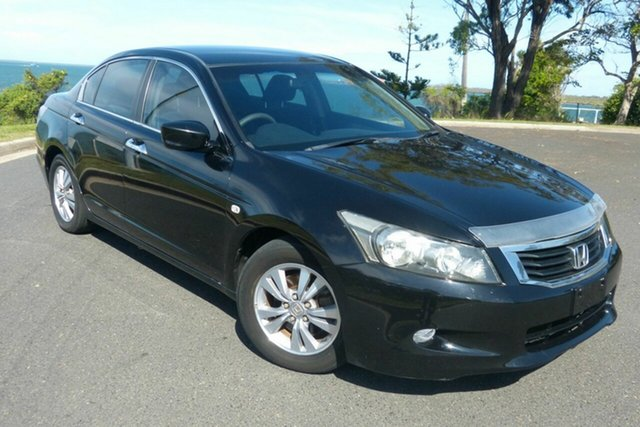 Used Honda Accord 8th Gen 40th Anniversary Gladstone, 2009 Honda Accord 8th Gen 40th Anniversary Black 5 Speed Sports Automatic Sedan