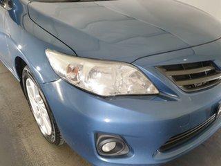 2012 Toyota Corolla ZRE152R MY11 Ascent Sport Blue 6 Speed Manual Sedan.