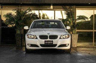 2009 BMW 3 Series E90 MY09 320i Steptronic Executive White 6 Speed Sports Automatic Sedan.