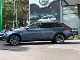 2020 Skoda Superb NP MY20.5 200TSI DSG Scout Grey 7 Speed Sports Automatic Dual Clutch Wagon.