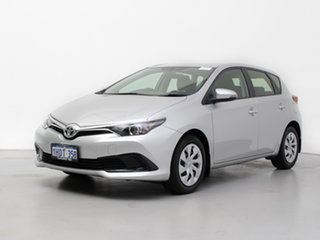 2017 Toyota Corolla ZRE182R MY15 Ascent Silver 7 Speed CVT Auto Sequential Hatchback.