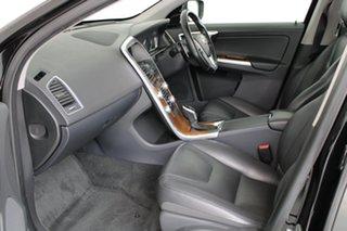 2016 Volvo XC60 DZ MY16 T5 Geartronic Luxury Onyx Black 8 Speed Sports Automatic Wagon
