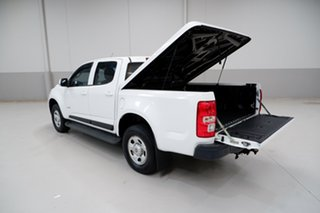 2014 Holden Colorado RG MY14 LX Crew Cab 4x2 White 6 Speed Sports Automatic Utility